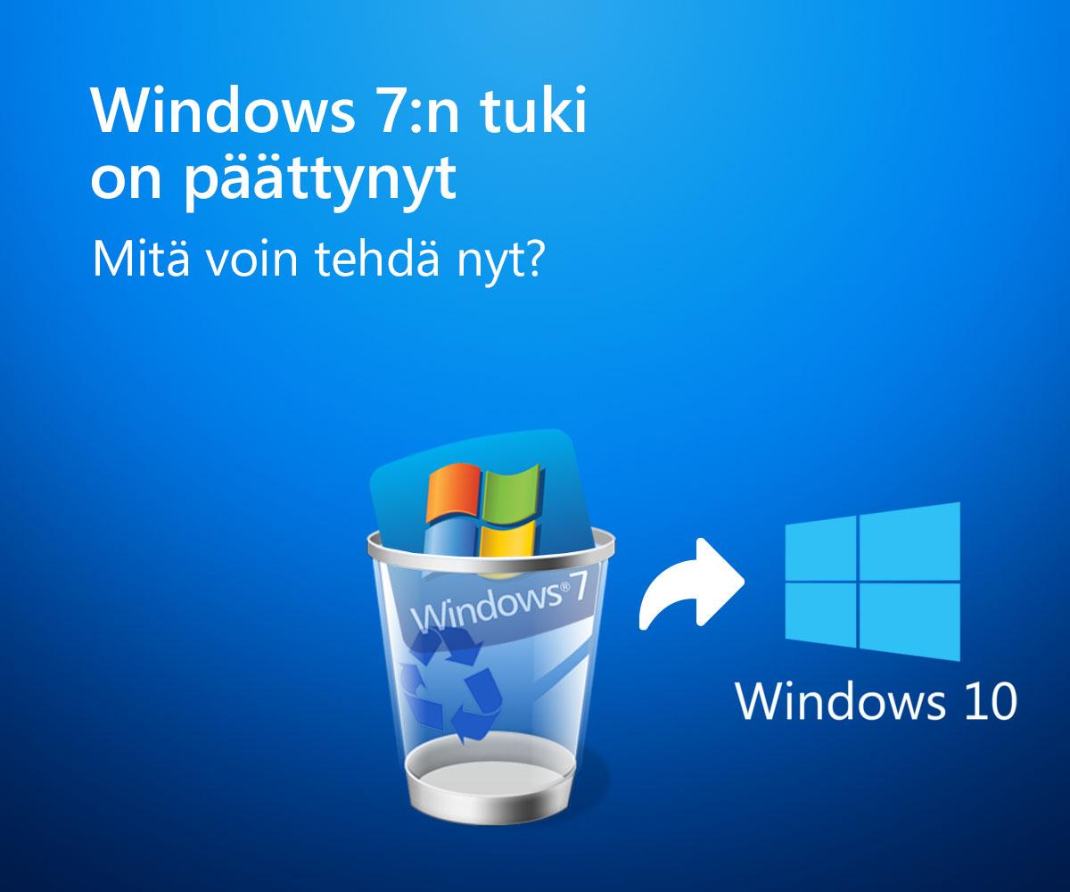 Windows 7 Tuki Loppuu