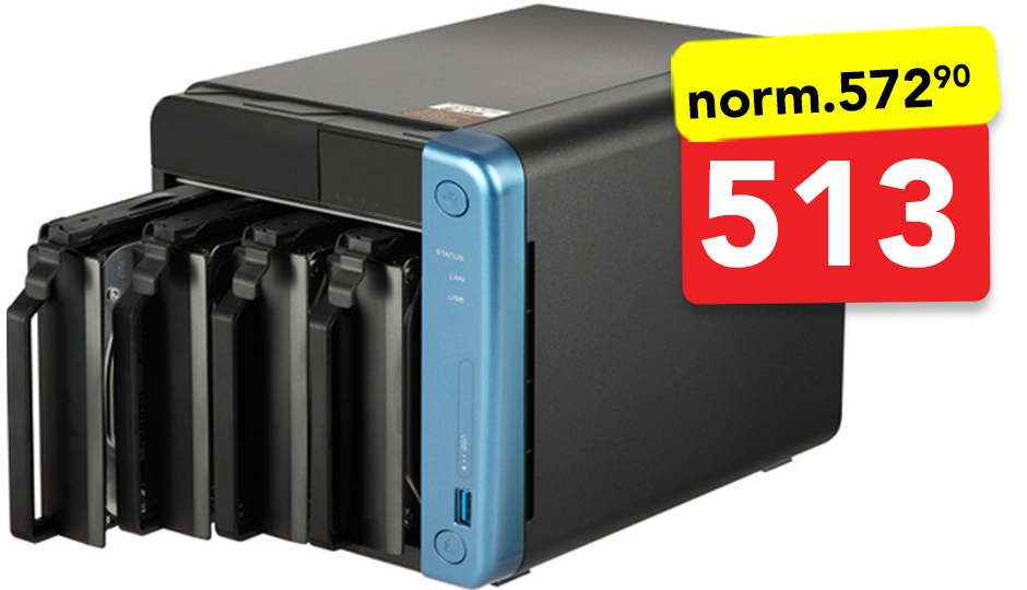 QNAP TS-453Be-4G. 4-bay - NAS-station