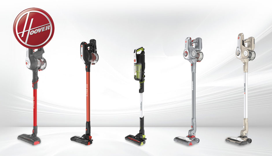 New Hoover H-FREE vacuum cleaners.