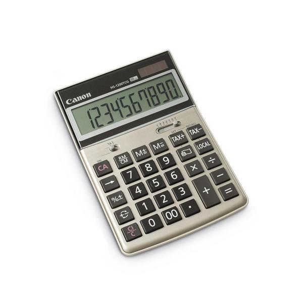 canon hs 1200tcg emea dbl table calculator calculators home
