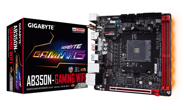 Gigabyte AB350N-Gaming, mini-ITX motherboard   Материнские платы ... 07665e92627