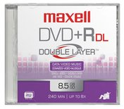 Maxell DVD+R DL 10-pack